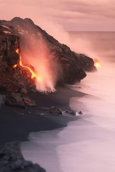 Volcanoes National Park, Hawaii science-pictures