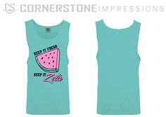 Keep it fresh, keep it Zeta tanks! Click our link to get a quote for your sorority! Sorority And Fraternity, Be Yourself Quotes, Custom Clothes, Tanks, Athletic Tank Tops, Fresh, T Shirt, Women, Fashion