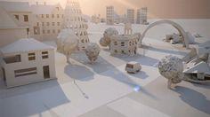 Paper City / Maciek Janicki   Motion design