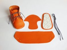 kit scarpine fai da te First baby shoes | #diy #shoes #baby