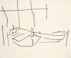 Image result for nicolas de stael drawings