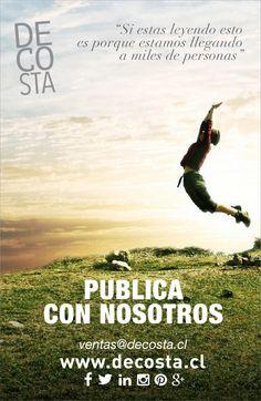 #PublicaconNosotros #RevistaDecosta www.decosta.cl