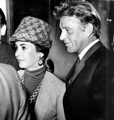 Richard Burton wrote about his love for Elizabeth Taylor in just-released diary | Elizabeth Taylor and Richard Burton in Toronto after their first ...