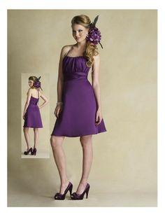 bridesmaid dresses purple | Home > Bridesmaid Dresses > Purple Column Bridesmaid Dress BK-0197