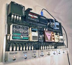 Twitter / NiceRackCanada: New #bass #pedalboard we built ... Guitar Pedal Board, Guitar Rig, Music Guitar, Acoustic Guitar, Music Music, Bass Pedals, Guitar Pedals, Gretsch, Diy Pedalboard