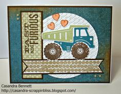 Fast and Furious stamp set! - Google Search | masculine cards ...