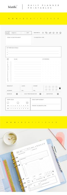 Planner Inserts Printables Download