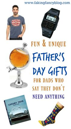 Fun and creative gifts for dads in a variety of themes. From techie dad to beer loving dad, I've got an affordable gift idea for Father's Day!