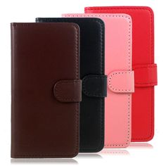 New Leather Auto Car Key Bag Pouch Remote Keychain Key Case Holder #K Multicolor