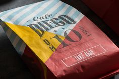 Cafe Diego on Behance