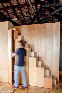 Revista Arquitetura e Construção - 7 escadas que se destacam pela beleza, conforto e praticidade