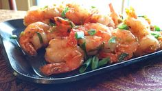 Sweet and Spicy Orange Shrimp