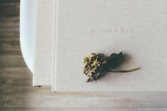 El álbum de boda.