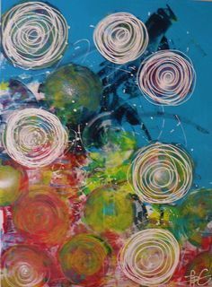 Colourful dream...1/73 cm x 100 cm