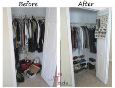 Top 5 Tips for an Organized Closet | Trust In Tricia