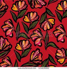 flower vector pattern - bu vektörü Shutterstock'ta satın alın ve başka görseller bulun. Vector Pattern, Abstract, Artwork, Flowers, Painting, Image, Summary, Work Of Art, Auguste Rodin Artwork