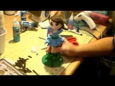 2º parte   Fairy Fofucha Pen Doll Tutorial