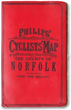 Cyclists Map Typography