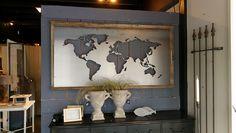 Wereldkaart Swiet Home