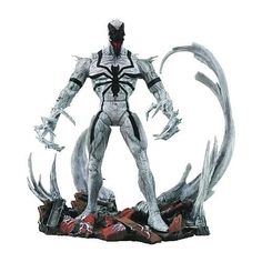 Marvel Select Anti-Venom Action Figure(Discontinued by manufacturer) Features: * A Diamond Select release * A Jean St Jean Sculpt * Presenting a fresh take on a classic Marvel Comics villain * Figure stands 7 Amazing Spider Man Comic, Amazing Spiderman, Venom Comics, Marvel Comics, Marvel Jokes, Anti Venom Marvel, New Venom, Venom Art, Venom Figure