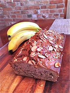Easy Banana Bread recipe | quick tip is to use 1/2 cup sugar & 1/2 cup brown sugar instead of 1 c. sugar -better taste!