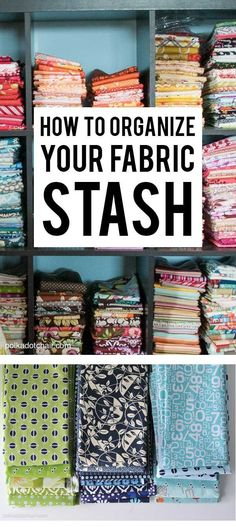 How to organize your fabric stash organize fabric, sewing hacks, sewing tutorials, diy Diy And Crafts Sewing, Diy Sewing Projects, Sewing Projects For Beginners, Sewing Hacks, Sewing Tips, Sewing Tutorials, Diy Crafts, Organizing Crafts, Simple Projects