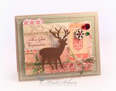 For A Glad Christmastide-Make It Monday At The Kraft Journal