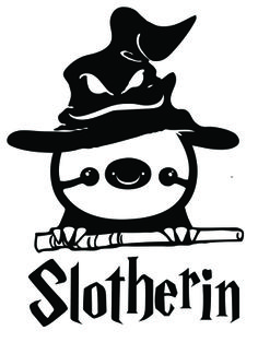 Funny Harry Potter Sloth Slotherin Decal Sticker by stickEdecals Funny Harry Potter Shirts, Harry Potter Facts, Harry Potter Books, Harry Potter Decal, Funny Stickers, Laptop Stickers, Slytherin, Hogwarts, Cute Sloth