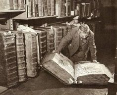 Woman with books - c- 1940