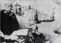 La mina del Castelletto delle Tofane