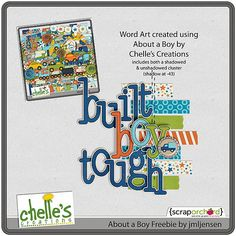 About a Boy Friday Freebie - Chelle's Creations