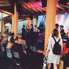#SinfonieorchesterBasel at #SwissPavilion, #Expo15