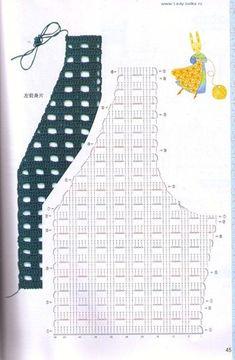 Fabulous Crochet a Little Black Crochet Dress Ideas. Georgeous Crochet a Little Black Crochet Dress Ideas. Gilet Crochet, Lace Knitting Patterns, Crochet Coat, Crochet Cardigan Pattern, Crochet Jacket, Crochet Blouse, Crochet Stitches, Crochet Vests, Black Crochet Dress