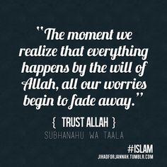 Trust Allah. Hope.