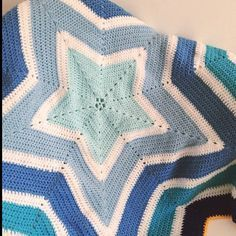 holly_pips crochet star blanket