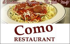 Como Restaurant - $40 Worth of Food and Drinks (Niagara Falls)