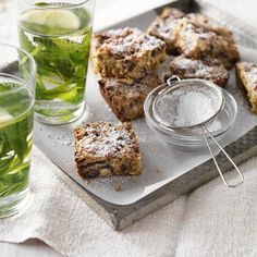 Rolled oat and date slice | Healthy Recipe | Weight Watchers AU