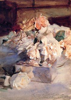 John Singer Sargent (1856-1925): Roses (c.1901)