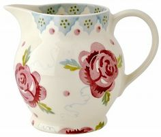Emma Bridgewater Rose & Bee 0.5 pint jug