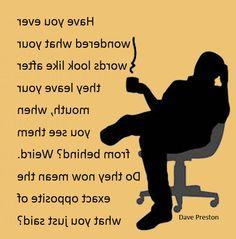 Rearview words. #writing, #humor, #weird, #backward