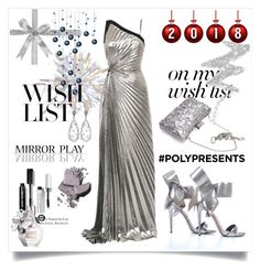"""#PolyPresents: Wish List"" by selmabjelic ❤ liked on Polyvore featuring Thierry Mugler, Bobbi Brown Cosmetics, Viktor & Rolf, NYX, contestentry and polyPresents"