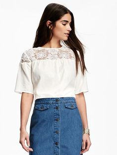 Lace Top for Women Product Image