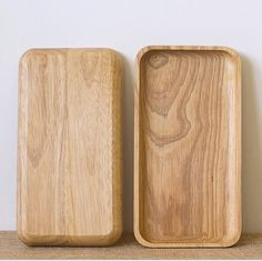 Japanese rubber wood plate solid wood plate fruit dish wood plate just $16USD
