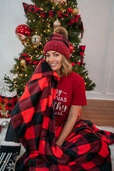 Cozy Looks From 3 Sisters Ya Filthy Animal, Holiday Pajamas, Plaid Scarf, Graphic Tees, Sisters, Winter Hats, Cozy, Animals, Fashion