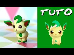Tuto Fimo | Phyllali / Leafeon (de Pokémon Rumble World)