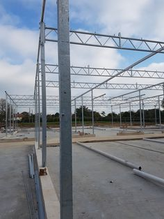 Erection of the glasshouse structure has started at DPD (Date Palm Developments), this is a 3000m glasshouse facility on a new site adjacent to the existing & is a complete turnkey project for Bridge; incorporating Groundworks, Glasshouse & all internal Mechanical & Electrical services including Offices within the glasshouse. Glass House, Greenhouses, Offices, Palm, Bridge, News, Projects, House Of Glass, Green Houses
