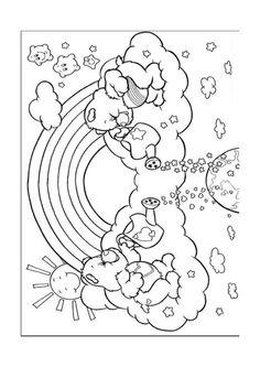 De Troetelbeertjes Kleurplaten voor kinderen. Kleurplaat en afdrukken tekenen nº 12