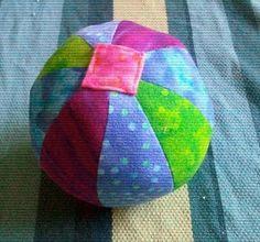 Homemade Mamas: Soft Baby Ball