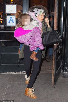 Sienna Miller New York City February 15, 2015 | Sienna Miller wearing Isabel Marant Nowles Boots