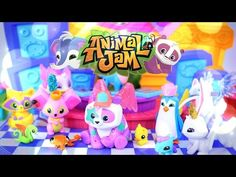 Toy Review: Animal Jam Club Geoz Dance Party - PLUS Blind Dens - 4K - YouTube